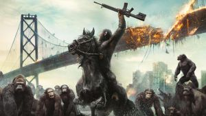 Dawn of the Planet of the Apes Wallpaper by sachso74