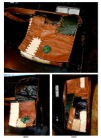 laether bag by funkydpression