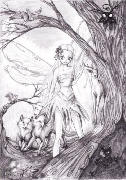 Gift - Fairy - Tunde by Reno-Viol