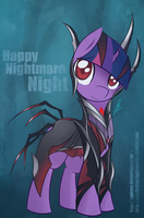 Happy Nightmare Night by PPDraw