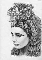 Cleopatra: Queen of Egypt by CaptainJenna