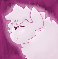 Day 7 - Fluffle Puff ( Pink ) by StormSwirl1