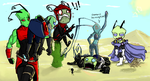 Iscribble desert collab by RoboticMasterMind