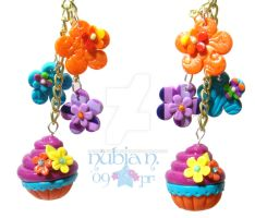 Colourful Blossom earrings by colourful-blossom