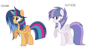MLP Silver Sentry's New Style by SilverSentryYT
