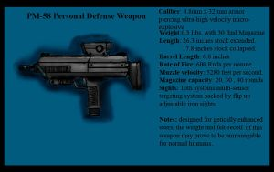 PM-58 Personal Defense Weapon by Andared