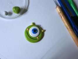 Mike Wazowski of MU by dsam4