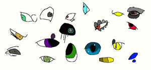 eyes and eyes and eyes. by Moracalle