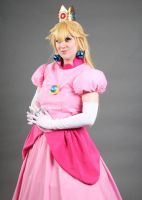 Princess Peach 'Anime Boston 2015' by BeCos-We-Can-Cosplay