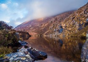 Lake Ontop of Gap of Dunloe by Martin-Veskilt