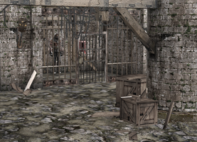 RE4 Castle And Prison by a-m-b-e-r-w-o-l-f