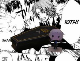TYL Tsuna's Coffin by tsunyandere
