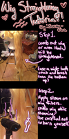 Wig Straightening Tutorial by Seena-Cha