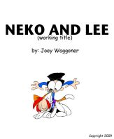 Neko and Lee Pilot Cover 2009 by WaggonerCartoons