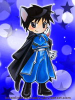FullMetal Kitty: Roy Mustang by MoonlightAlchemist
