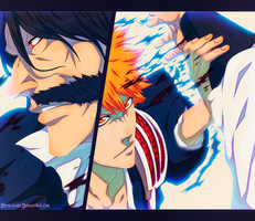 Bleach 618 - The Dark Arm by hyugasosby