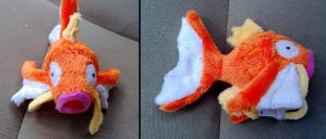 Mini magikarp Plush by LRK-Creations