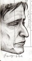Johnny Cash Doodle by Smileyface102g