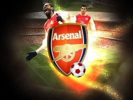 Arsenal Wallpaper by artofmarc