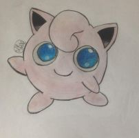 Color Pencil Jigglypuff 2 by vjs777