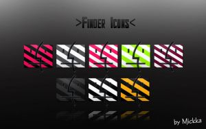 Finder Icons by Mickka