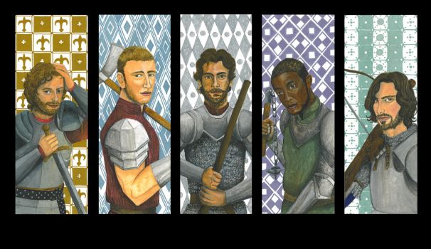 The Knights by ReniMilchstrasse