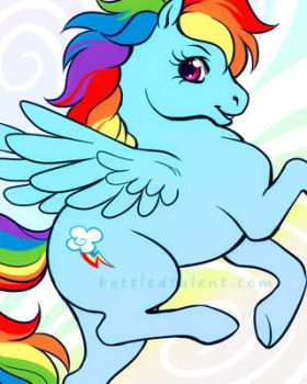 Rainbow Dash by celesse