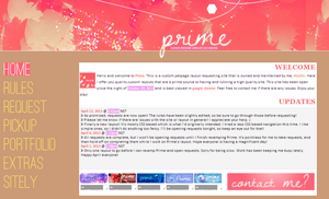 New layout for Prime by maddieover