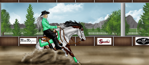 WWF October: Missy Reining by Shining-Spurs-Ranch