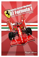 Ferrari 2007 F1 Champion. by hatefiles