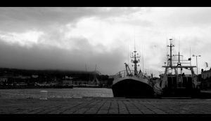 Harbour in Howth by Stillrebel
