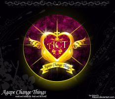 Logo ACT agape change things by Foxcun