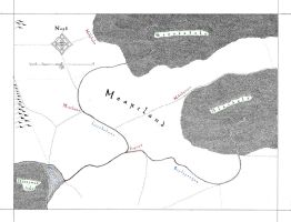 Map for DnD: Mearcland by Squirrel-slayer