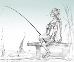 Fisher'nah... by Creature13