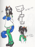 Sailor Nepeta by RibcageKitten
