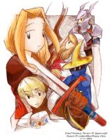 Final Fantasy Tactics Fanart by evikted