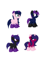MirageXNova Foals: (CLOSED) by PricessOfTheNight