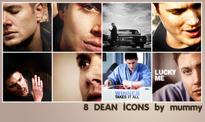 8 Dean Icons :3: by mummy16