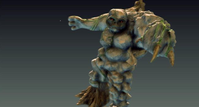Tree Troll WIP by CMA3D
