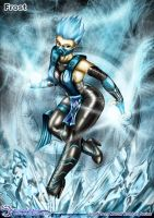 Fan-Art - Mortal-Kombat Frost by Elinewton