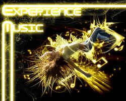 Experience Music - Wallpaper by Golf-Punk