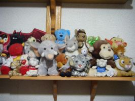 Plushie collection 8 by Lexafar