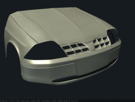 Ford falcon WIP1 by Affet-kak