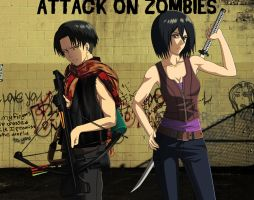 Attack on Zombies by Alodia-Belle