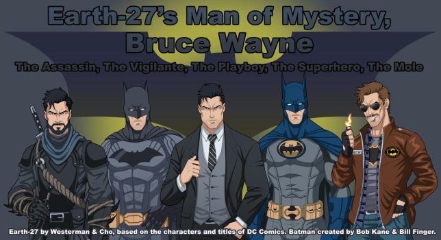 Earth-27's Man of Mystery by Roysovitch