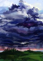 thunder-storm by Lapponia