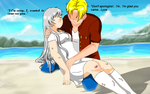 Nathaniel X Lysa with dialog1  by DaimondsGlitter