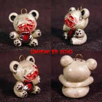 Rot Bear Charm ooak by Undead-Art