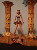 tomb raider 1 - papercraft by KarenGE