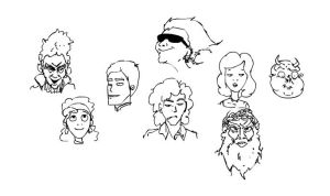 faces by tyokio